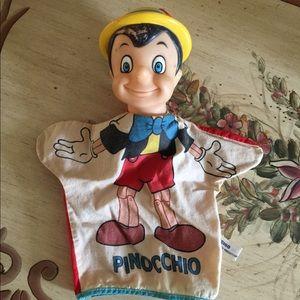 Pinocchio 1960's Hand Puppet